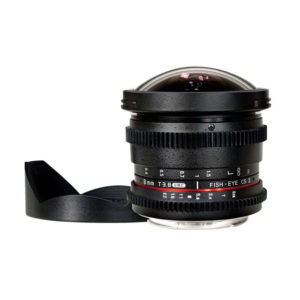 Rokinon 8mm T 3.8 Fisheye Cine Lens for Nikon